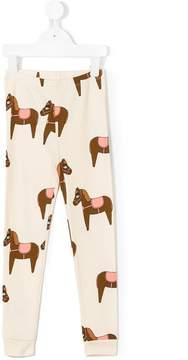 Mini Rodini horse print leggings