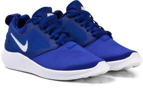 Nike Blue Junior Lunarsolo Running Trainers