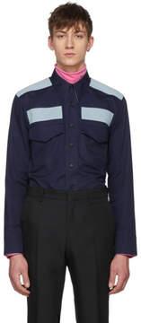 Calvin Klein Navy Workwear Pocket Shirt