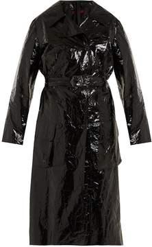 DAY Birger et Mikkelsen SIES MARJAN Bessie crinkled-vinyl trench coat
