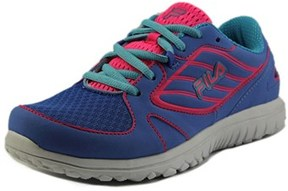 Fila Boomers Youth Round Toe Synthetic Blue Running Shoe.