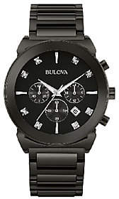 Bulova Men's Diamond Dial Chronograph Dress Watch
