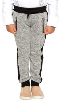 Dex Little Boy's Contrast-Trimmed Jogger Pants