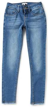 Copper Key Big Girls 7-16 Frayed-Hem Denim Jeans