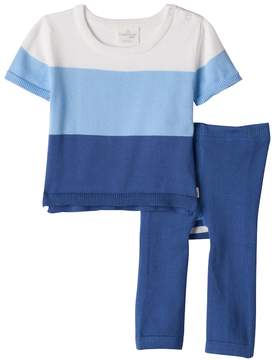 Cuddl Duds Baby Boy Colorblock Knit Top & Pants Set