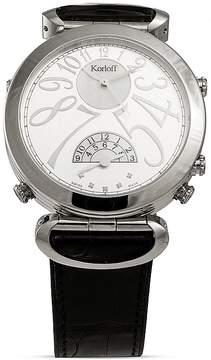 Bloomingdale's Korloff PARIS Gent Voyager Watch, 42mm