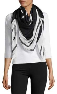 Karl Lagerfeld Paris Two-Tone Scarf