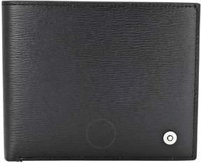 Montblanc Westside 8CC Black Leather Wallet