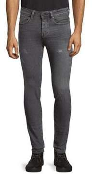 Selected Distressed Skinny Jeans