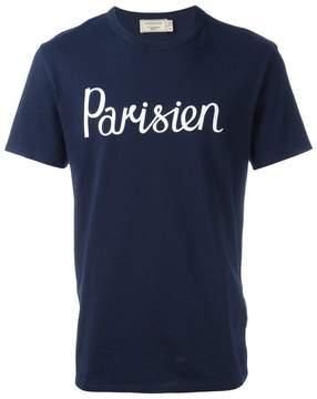 MAISON KITSUNÉ 'Parisien' T-shirt