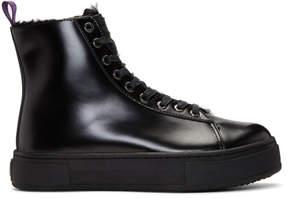 Eytys Black Kibo Montana Lace-Up Boots