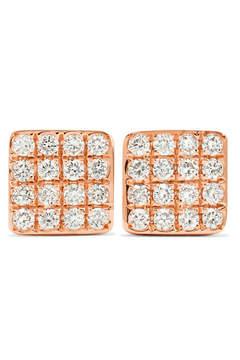Anita Ko Harlow 18-karat Rose Gold Diamond Earrings