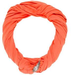 Donni Charm Logo-Accented Infinity Scarf