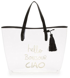 Deux Lux Gypsy Transparent Tote Bag