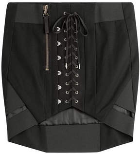 Anthony Vaccarello Cotton Corset Skirt