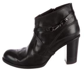 Alberto Fermani Denver Leather Booties