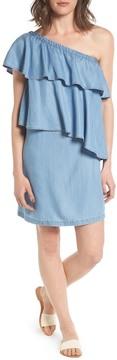 Chelsea28 One-Shoulder Denim Dress