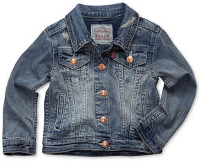 Levi's Snap Button-Front Denim Jacket, Little Girls (4-6X)