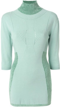 Antonio Marras fitted knitted sweater