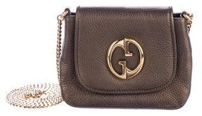 Gucci 1973 Small Crossbody Bag - BROWN - STYLE