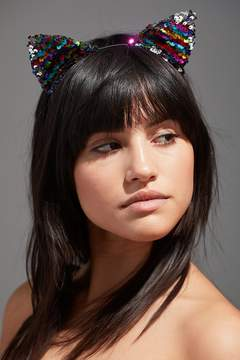 Urban Outfitters Sequin Cat Ear Headband