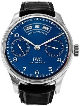 IWC Portugeiser Midnight Blue Dial Automatic Men's Watch