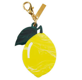 Edie Parker Lemon Bag Charm