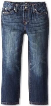 7 For All Mankind Kids - Standard Jean in New York Dark Boy's Jeans