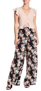 WAYF Rosendale Floral Pants