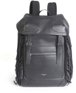 Givenchy Fringed Leather Backpack