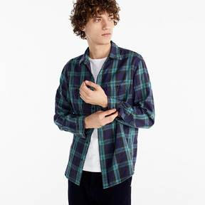 J.Crew Midweight flannel shirt in Black Watch