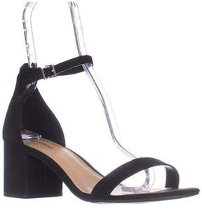 Call it SPRING Stangarone Ankle Strap Sandals, Black.