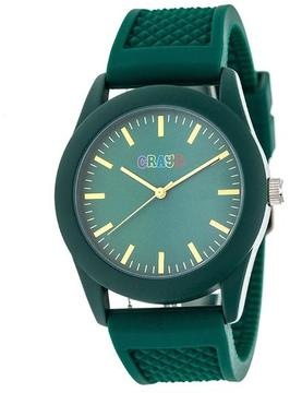 Crayo Storm Collection CRACR3703 Forest Green Analog Watch