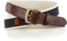 Vineyard Vines Detroit Tigers Canvas Club Belt