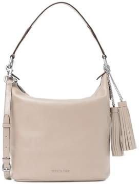 MICHAEL Michael Kors Elana Large Shoulder Bag - CEMENT - STYLE