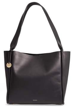 Skagen Karalie Leather Shoulder Bag - Black