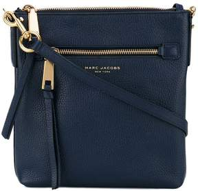Marc Jacobs zipped crossbody bag - BLUE - STYLE