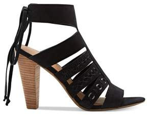 Lucky Brand Womens Radfas Leather Open Toe Casual Ankle Strap Sandals.
