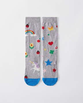 Hanna Andersson Pitter Pattern Knee Socks