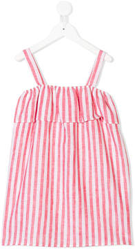 MC2 Saint Barth Kids vertical stripe print dress