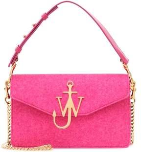 J.W.Anderson Logo felt shoulder bag