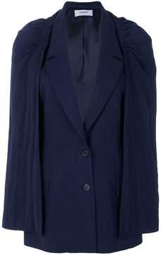 Chalayan layered waistcoat