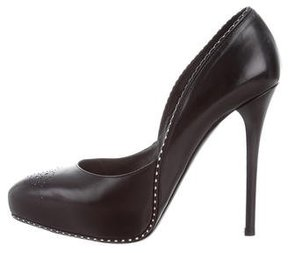 Ralph Lauren Collection Beatrix Platform Pumps