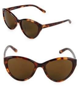 Linda Farrow 57MM Butterfly Sunglasses