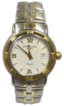Raymond Weil 9440 Parsifal Stainless Steel & 18K Yellow Gold Quartz 36mm Mens Watch