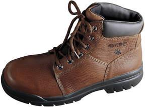 Wolverine Marquette Mens 6 Slip-Resistant Work Boots
