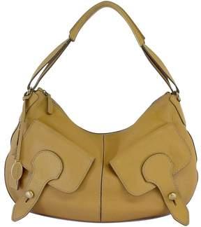 Tod's Deep Beige Leather Shoulder Bag