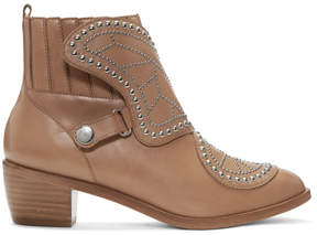 Sophia Webster Tan Karina Boots