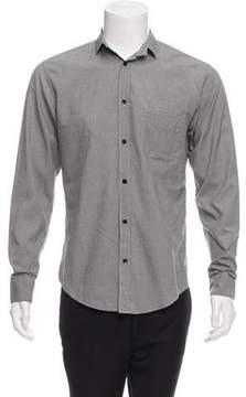 Christian Dior Gingham Button-Up Shirt