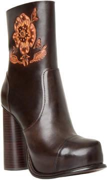 Max Studio hive : block-heel leather boots